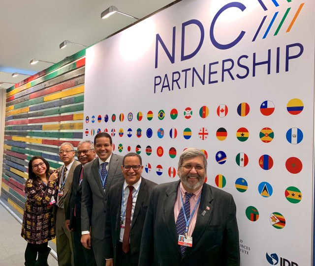 Dominican Republic Launches Its Climate Action Plan With The Ndc Partnership