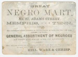 "Great Negro Mart"""