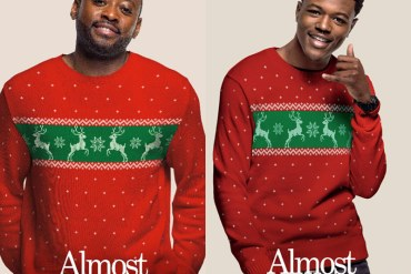 "Omar Epps & DC Young Fly of ""Almost Christmas"""
