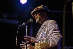 Reggie performing in Rochester