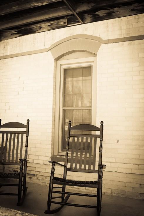 Hotel Porch circa 1880's