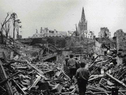 Berlin devastation after WWII
