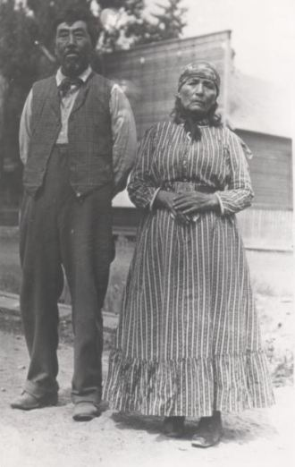 Chief Henry Yelkas and Molalla Kate