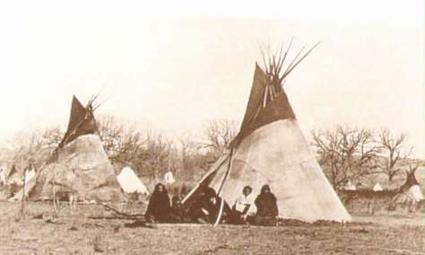 Plains Indian Tipis
