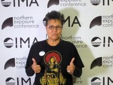 Janet Rogers Native Radio Show Host, Radio Doc Producer