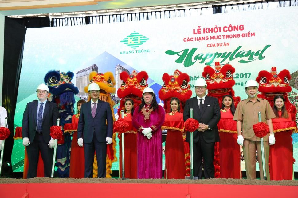 Tái khởi động dự án Happyland Việt Nam gần ngay Trần Anh Riverside