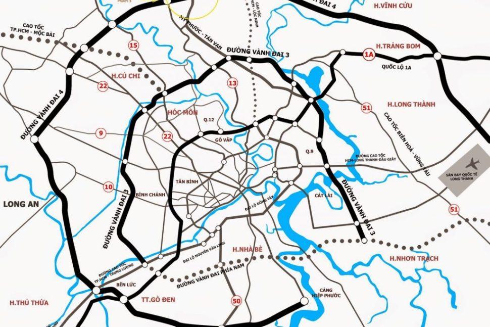 Dự án Bella Villa Trần Anh năm trên đường vành đai 4 – Vị trí đắt địa khu vực