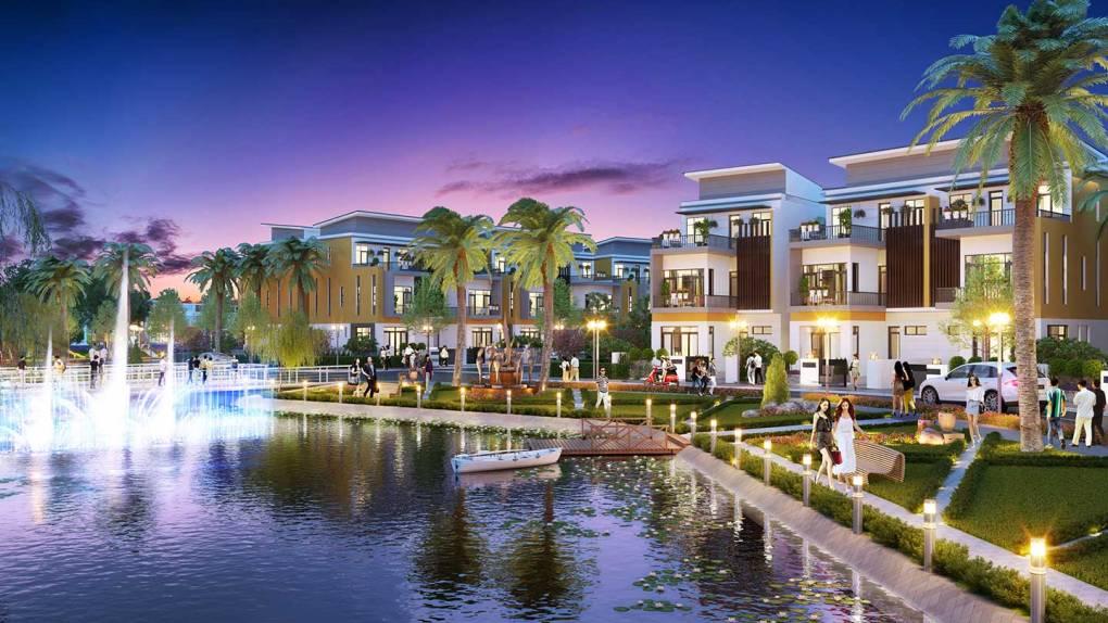 Phối cảnh 3D biệt thự dự án Trần Anh Riverside