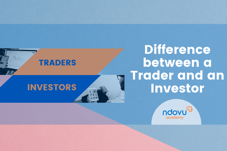 Difference between a trader and an investor