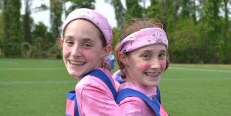 Kate and Kerry field day May 2015