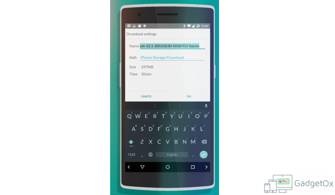 Chromium based browser Gello from Cyanogen is now available on some