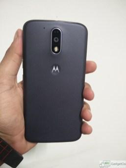 Moto G4 Plus back