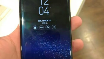 Samsung Galaxy S8 and the Galaxy S8+ start getting Android