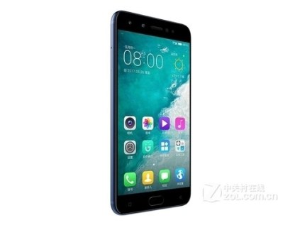 Gionee S10 left blue