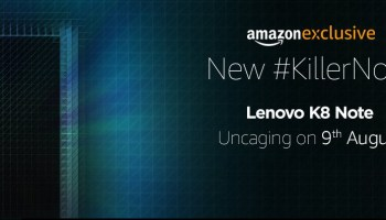 Lenovo A6 Note is coming to India on September 5 exclusively