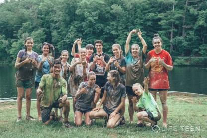 Friday Games at Life Teen Camp Hidden Lake
