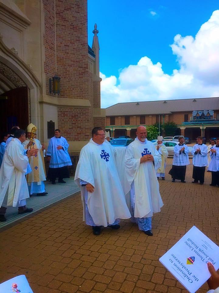 Fr. Paul Birdsall and Fr. Joey Lirette