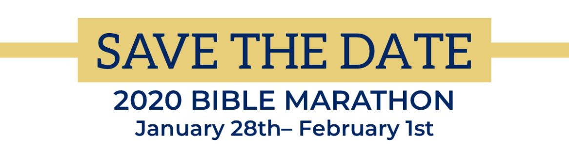 Bible Marathon 2020 STD