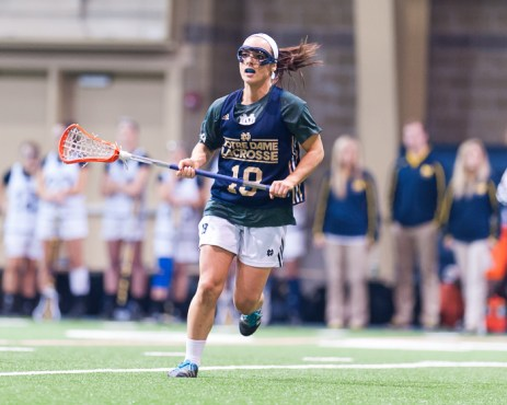 Women's Lacrosse rolls through Michigan, Cincinnati, By Zachary Llorens