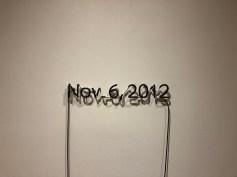 """Glenn Ligon, """"One Black Day"""" (2012)"""