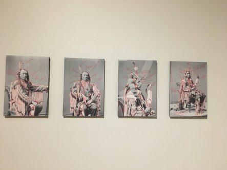 """Wendy Red Star (Apsáalooke/Crow), """"1880 Crow Peace Delegation"""" (2014)"""