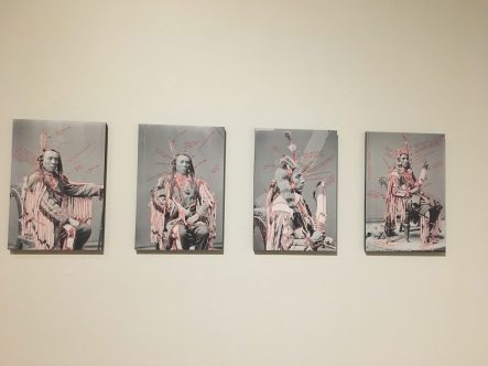 "Wendy Red Star (Apsáalooke/Crow), ""1880 Crow Peace Delegation"" (2014)"