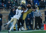 Navy-Notre Dame game moved from Dublin to Annapolis for 1st time in rivalry history