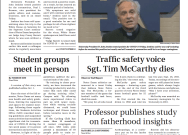 Print Edition for Monday, October 5, 2020