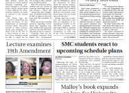 Print Edition of The Observer for Wednesday, October 21, 2020