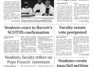 Print Edition of The Observer for Wednesday, October 28, 2020
