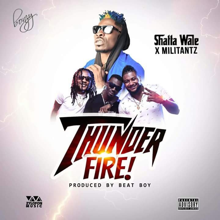 Next Release: Shatta Wale x Millitants - Thunder Fire (Prod by Beat Boy)