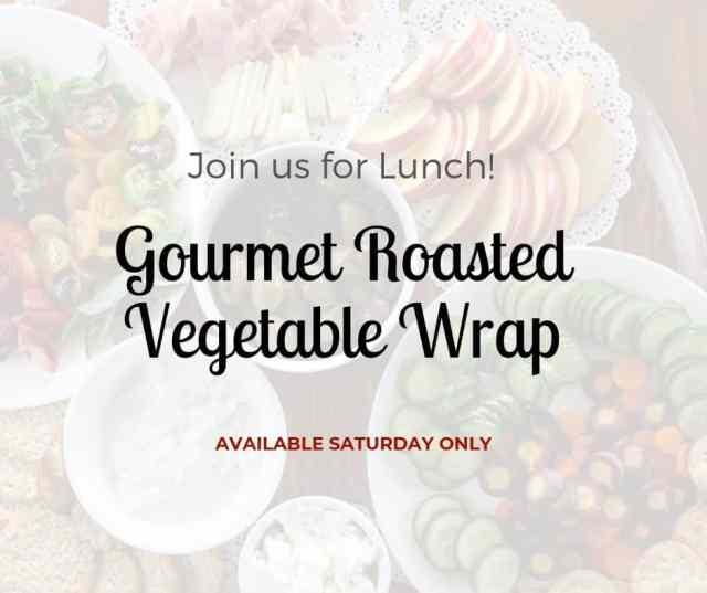 Gourmet Roasted Vegetable Wrap