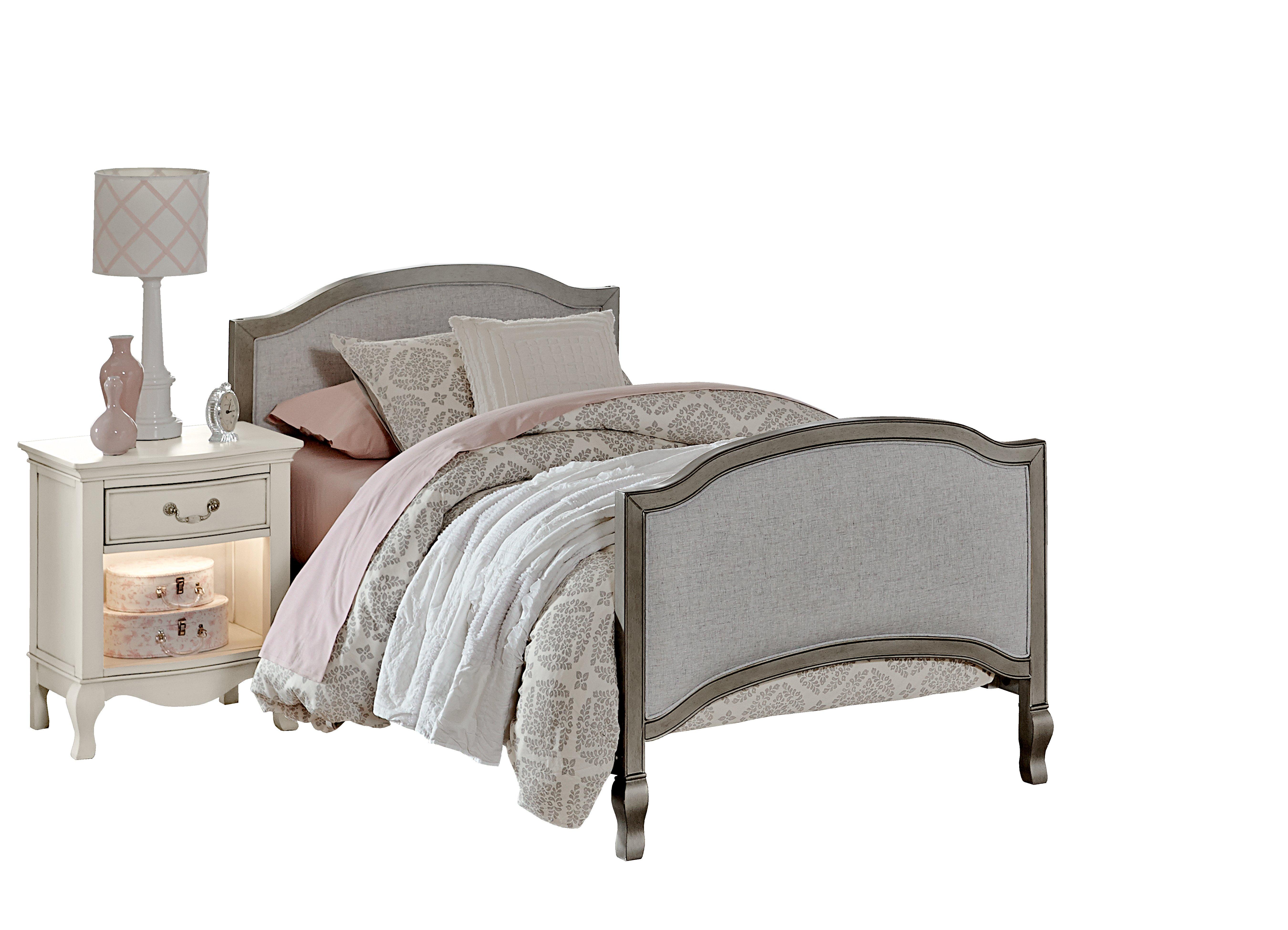 Kensington Victoria Upholstered Panel Bed