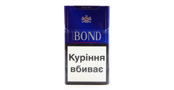 Bond cigaretter, binding
