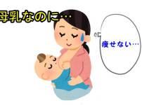 母乳なのに痩せない