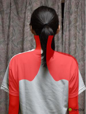 肩こり症状腕