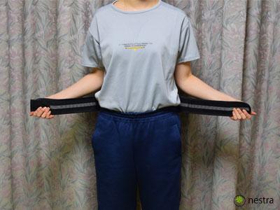 腰痛予防骨盤ベルト1