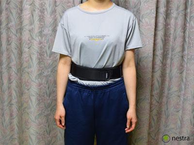 腰痛予防骨盤ベルト5