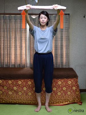 五十肩リハビリ-タオル2