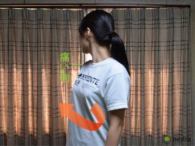 肩痛ネストラ式体捻り1