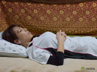 寝起き腰痛全身呼吸1