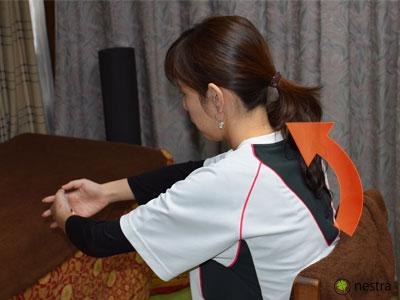肩こり応急処置8