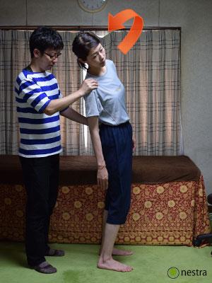 腰の痛みテスト-ケンプ徴候5