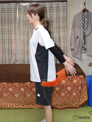 四十肩とは肩の伸展