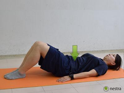 出産後腰痛-ドローイン2