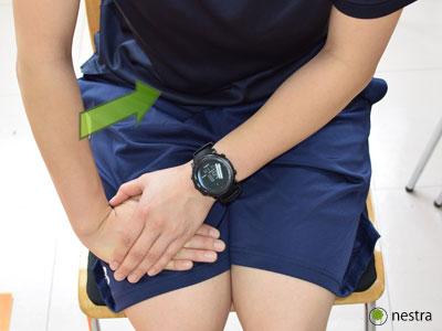 手の腱鞘炎-橈屈ストレッチ3
