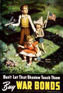 WWII Poster for War Bonds