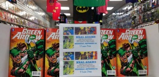 Neal Adams Signing at Zapp Comics