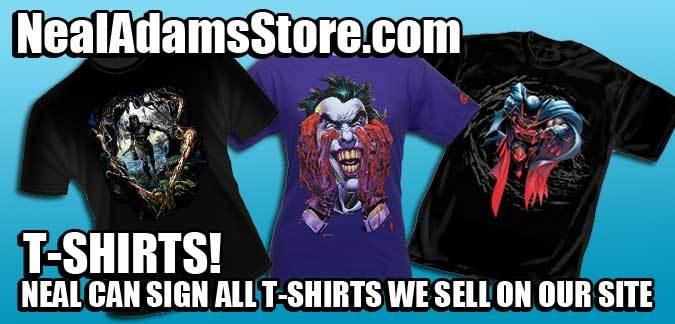 T-Shirts at NealAdamsStore.com
