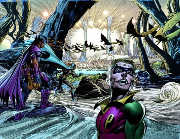 Neal Adams' Batman Odyssey #7 Pages 24-25